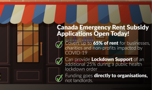 Canada Emergency Rent Subsidy (CERS) - Apply Now! Photo - Click Here to See
